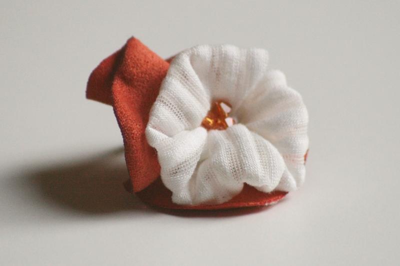 Orangenblüte  (Schmuck: Kreativ-Ringe)