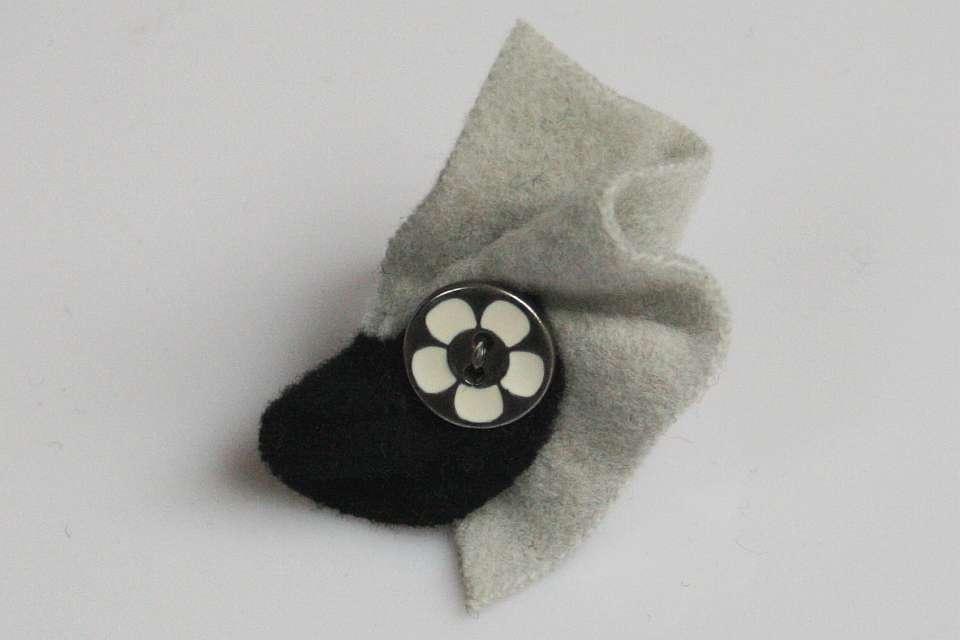 black & white  (Schmuck: Kreativ-Ringe)